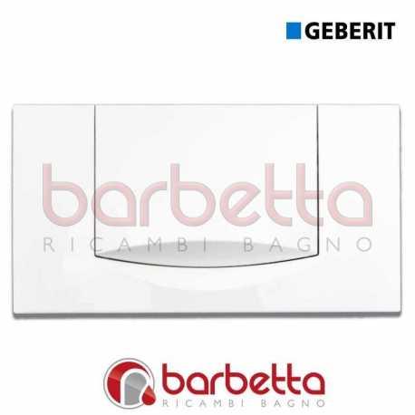 GEBERIT RICAMBIO PLACCA MONOTASTO BIANCA 115.222.11.1