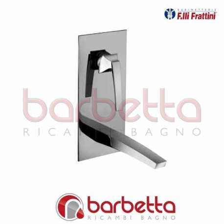 """BATTERIA LAVABO A PARETE VERTICALE SENZA SCARICO """"LUCE"""" F.LLI FRATTINI 84035"""