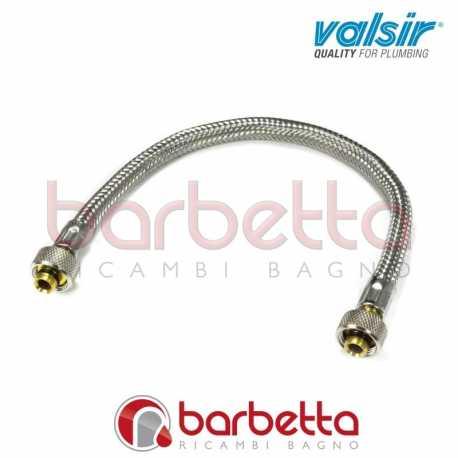"""TUBO FLESSIBILE 3/8""""X3/8"""" PER GALLEGIANTE INCASSO VALSIR VS0863118"""