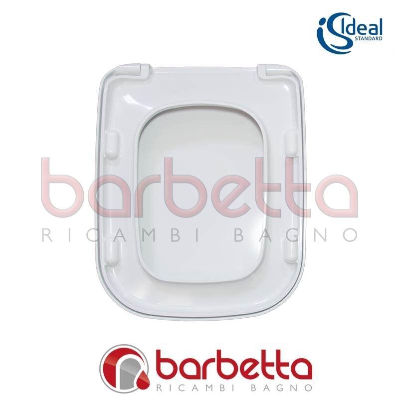 Sedile copriwater ideal standard conca bianco t637801 for Ideal standard conca